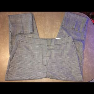 NWT Ann Taylor Houndstooth Ankle Pants
